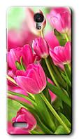 Чехол для Xiaomi Redmi Note (Тюльпаны)