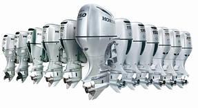Запчасти для лодочных моторов Honda