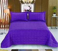 Покрывало 230х250 Valtery софткоттон PMO-10 фиолетовый