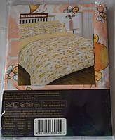 7823 оранжевый Ранфорс детское постельное белье Вилюта