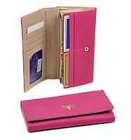 Розовый женский кошелек Bretton