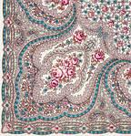 """Платок шерстяной с шелковой бахромой """"Фея сирени"""", 146x146 см. рис 406-1, фото 2"""