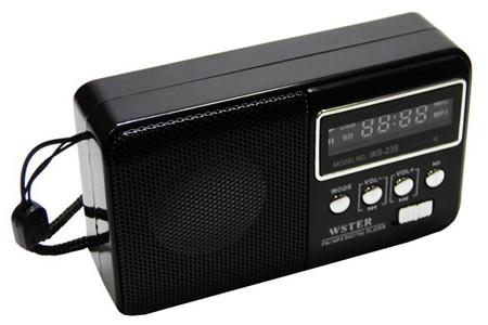 Колонка радиоприемник WS-239 с Мп3