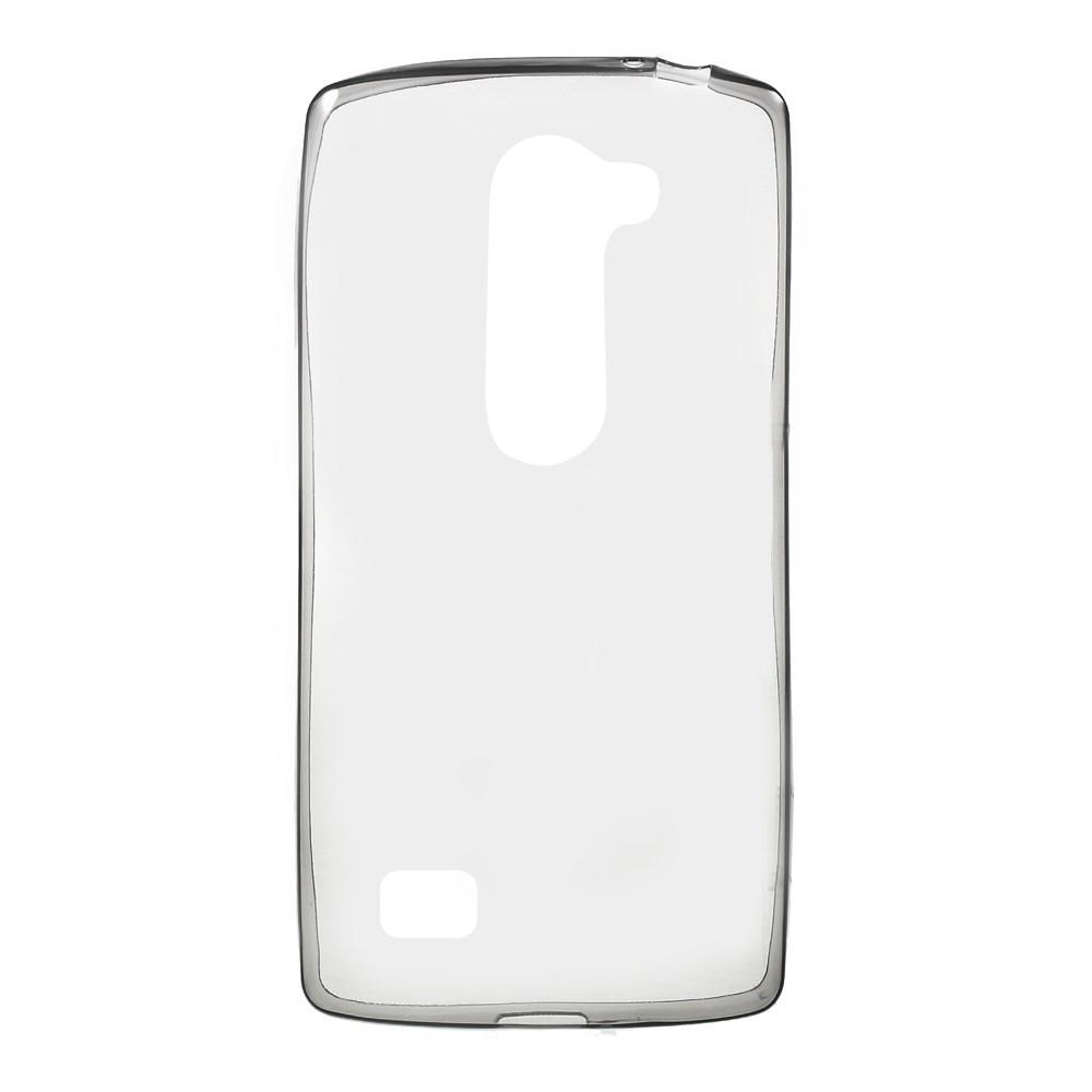 Чехол накладка силиконовый TPU Remax 0.2 мм для LG Leon Y50 H324 серый
