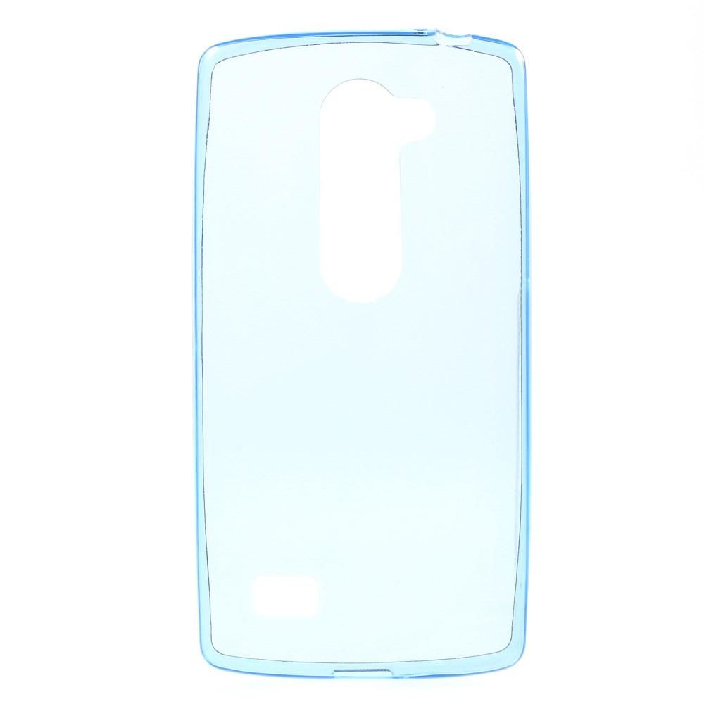 Чехол накладка силиконовый TPU Remax 0.2 мм для LG Leon Y50 H324 синий