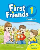 First Friends 1 Class Book with Audio CD (Учебник/підручник по английскому языку с диском CD)