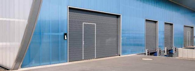 Hormann секционные промышленные ворота
