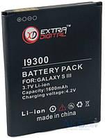 Аккумулятор Samsung i9300 Galaxy S3 / EB-L1G6LLU / BMS6313 (1600 mAh) ExtraDigital, фото 1