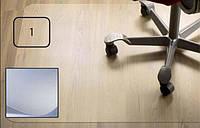 Защитный коврик PET, для гладкой поверхности, 2,0мм, 121 x 121 см