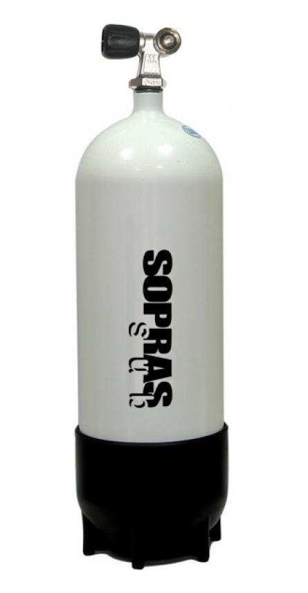 """Баллон для дайвинга Sopras Sub 7 литров 300 Bar 140 мм - Интернет-магазин товаров для дайвинга """"Diving-shop"""" в Киеве"""