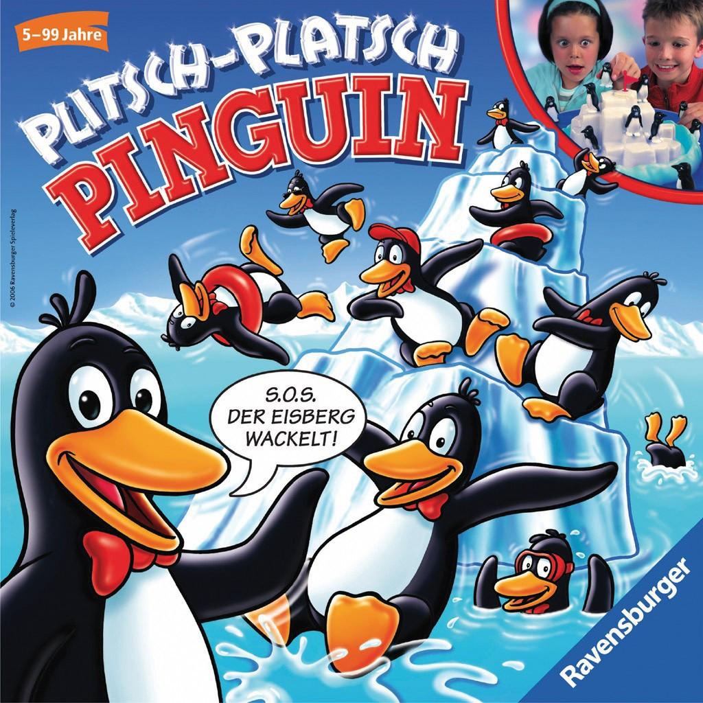 Настільна гра Ravensburger Пінгвіни на крижині (22080)