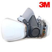 Респиратор 3М 6000(6200)фильтр А1,предфильтром и держателем предфильтра