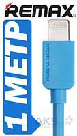 USB кабель REMAX light cable IPhone Blue