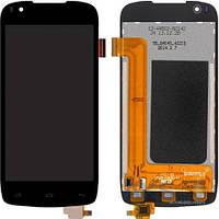 Дисплей (экран) для телефона Fly IQ4405 Evo Chic 1 + Touchscreen Original Black