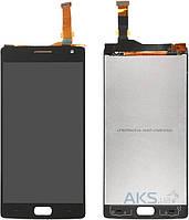 Дисплей (экран) для телефона OnePlus Two + Touchscreen Original Black
