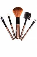 Компактный набор кисточек для макияжа Malva