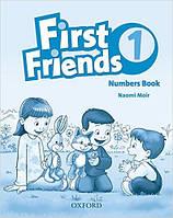 First Friends 1 Numbers Book (Пропись для написания чисел по английскому языку First Friends 1)