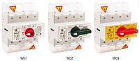 Выключатели нагрузки, рубильники, изолирующие выключатели RSI, 160А, Спамел, РАСПРОДАЖА