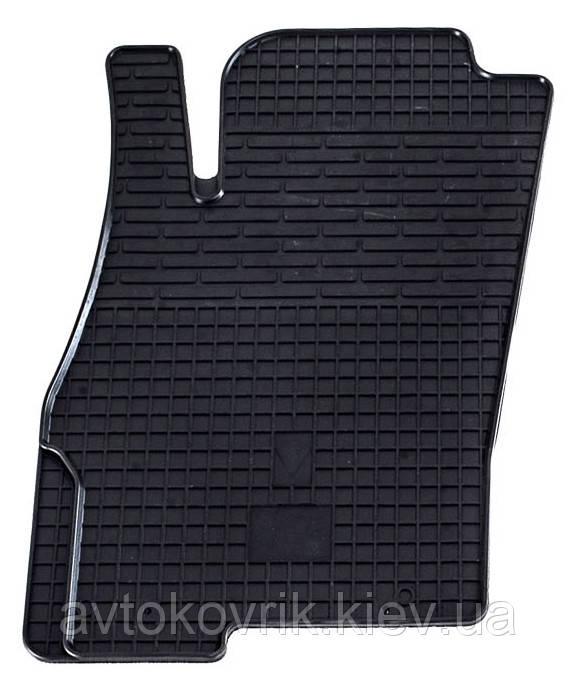 Резиновый водительский коврик в салон Fiat Punto III 2005- (STINGRAY)