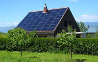 Сетевая солнечная электростанция 20кВт\380В (3000кВат\Мес) Зелёный Тариф