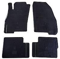 Резиновые коврики для Fiat Punto Evo 2009- (STINGRAY)