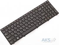 Клавиатура для ноутбука Lenovo G580, G585, N580, N585, Z580, Z585 rus, (25-201827) Black