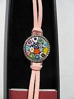 Эксклюзивный браслет из муранского стекла Миллефиори Corte Murrina