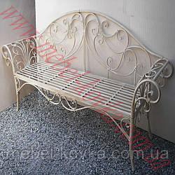 Кованый диван для улицы 2