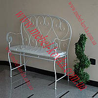 Кованый диван для сада 3