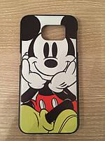 Пластиковый чехол Микки Маус для Samsung Galaxy S6