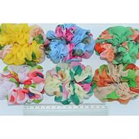 Резинки шелковые объемные разноцветные