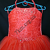Платье нарядное бальное детское 6 лет Корсет коррал Украина оптом., фото 2