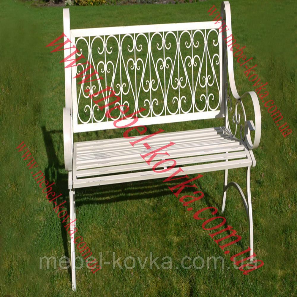 Кований диван для саду 6