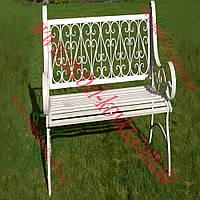 Кованый диван для сада 6