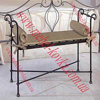 Кованый диван для сада 7