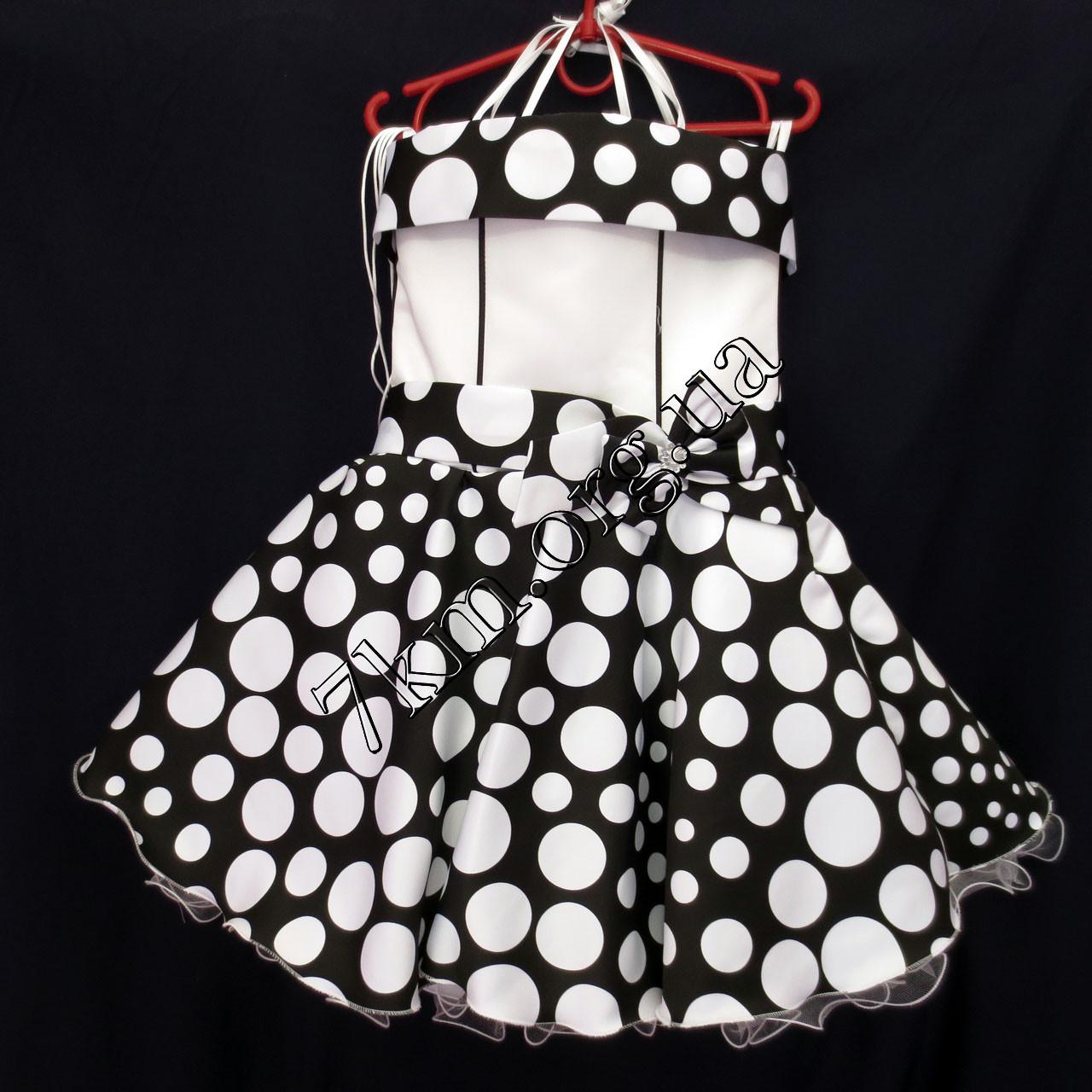 Платье нарядное бальное детское 6 лет Стиляга черный Украина оптом.