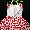 Платье нарядное бальное детское 6 лет Стиляга красное Украина оптом., фото 3
