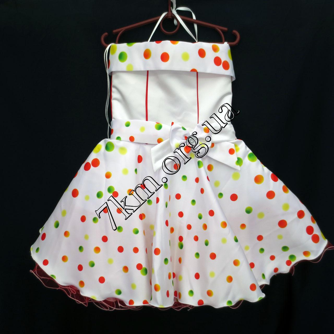 Платье нарядное бальное детское 6 лет Стиляга ассорти Украина оптом.