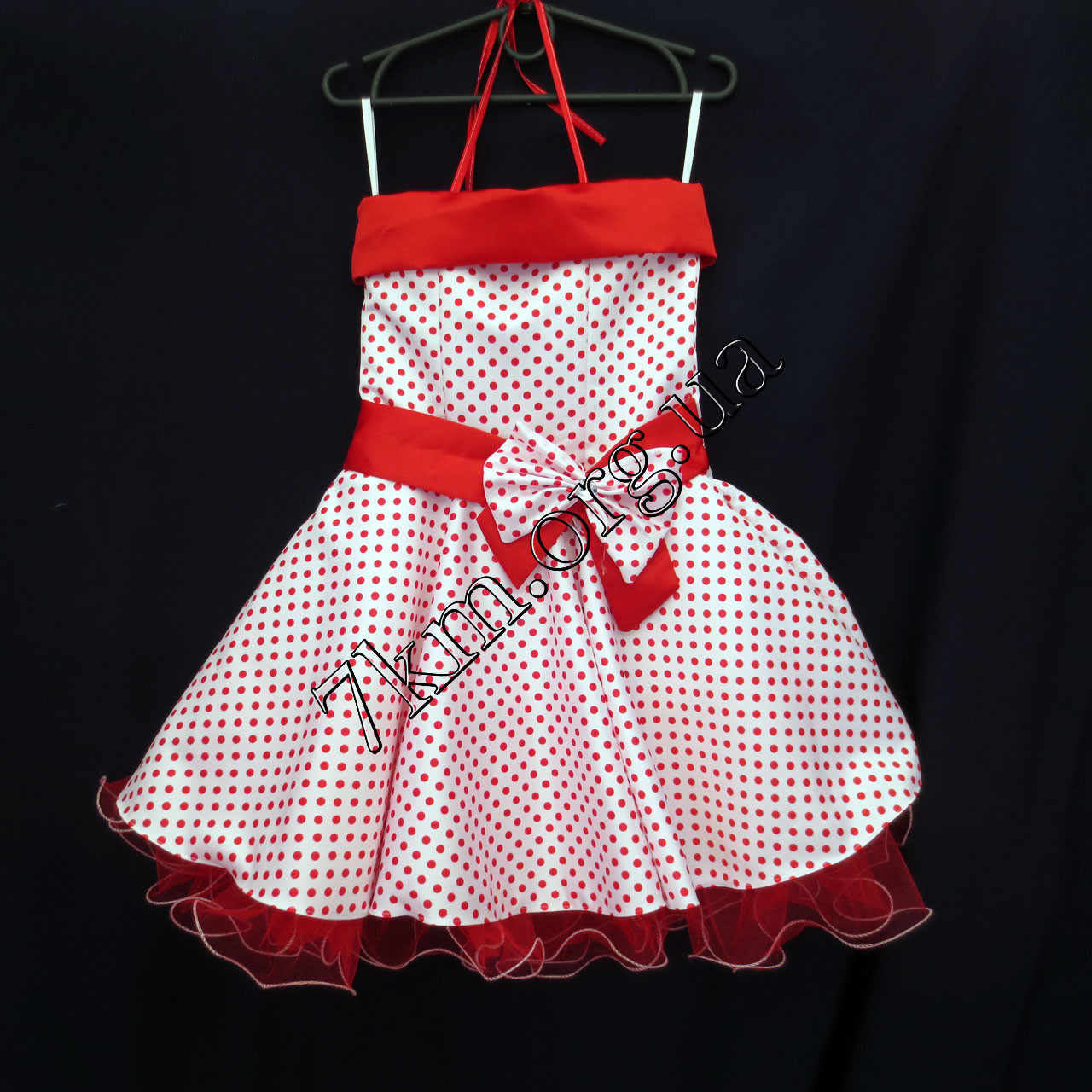 Платье нарядное бальное детское 6 лет Стиляга белое Украина оптом.