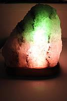 Соляная лампа Скала  4-5 кг цветная лампа