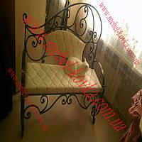 Кованый диван для дома 16