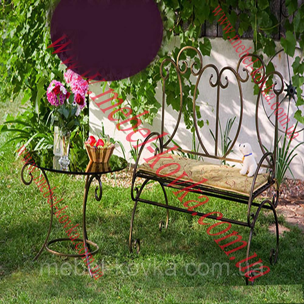Кованый диван для дома 17