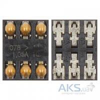 (Коннектор) Aksline Разъем SIM-карты Nokia 2220s / 2690 / 2730c / 3109 / 3500 / 3610f / 5200 / 5228 / 5230 / 5233 / 5235 / 5300 / 5320 / 5500 / 5800 /