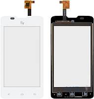 Сенсор (тачскрин) для Fly IQ449 Pronto Original White