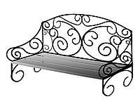 Кованый диван для дома 18