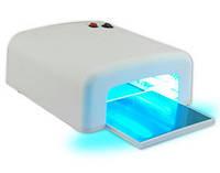 Ультрофиолетовая лампа для сушки гель лака, маникюра 818 36вт Оригинал (белая) Гарантия