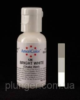 Краситель пищевой гелевый Americolor Bright white / Белый