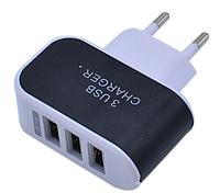 Сетевое зарядное устройство для мобильного телефона, планшета, смартфона, iPhone, iPad Triple 3USB СЗУ SAMSUNG
