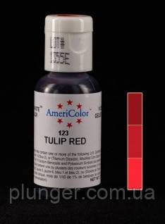 Гелевый краситель Ameriсolor Tulip red / Красный тюльпан