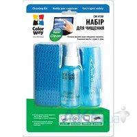 Чистящее средство ColorWay Набор 3в1 (Салфетка, спрей, щеточка) (CW-4130)